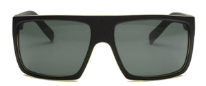 Otis Capitol Sunglasses - Matte Black / Olive / Grey