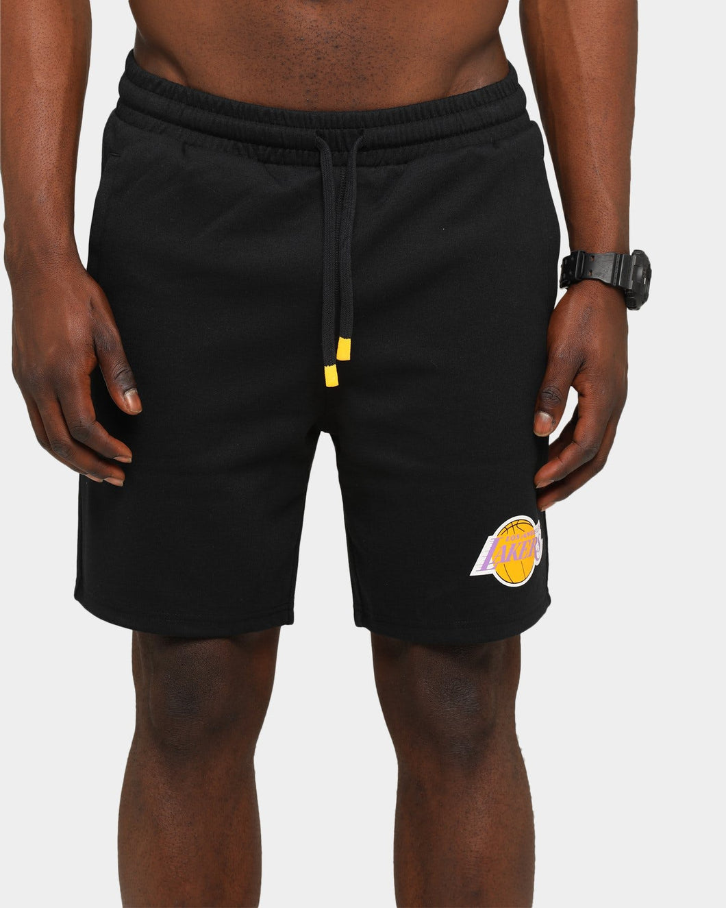 Mitchell & Ness Men's Hometown Champs Lakers Short - Black