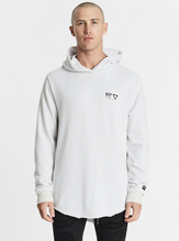 Load image into Gallery viewer, Nena & Pasadena Men's Renounce Hooded Dual Curved Sweater - Snow Marle