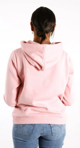 Hurley Youth One & Only Fleece Pullover - Pink Glaze