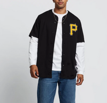 Load image into Gallery viewer, Majestic MLB Replica Pirates Jersey - Standard Black