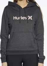 Load image into Gallery viewer, Hurley Youth One & Only Fleece Pullover - Black Heather