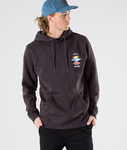 Ripcurl Men's Search Icon Hoodie - Washed Black
