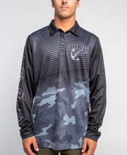 Load image into Gallery viewer, The Mad Hueys Big Boss Fishing Jersey - Black