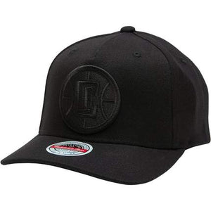 Mitchell & Ness Redline Los Angeles Clippers Hat - Black/Black