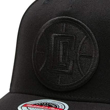 Load image into Gallery viewer, Mitchell & Ness Redline Los Angeles Clippers Hat - Black/Black