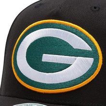 Load image into Gallery viewer, Mitchell & Ness Redline Green Bay Packers Hat - Black/Team Colour