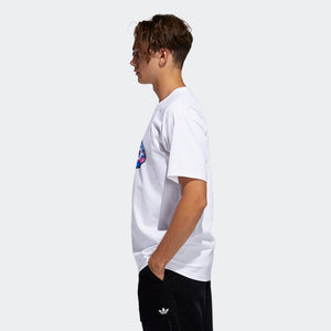 Adidas Men's Oval Tee - White