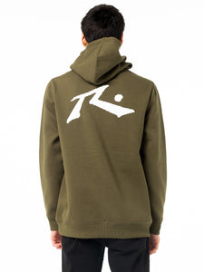 Rusty Men's Competition Hooded Fleece - Gun Green