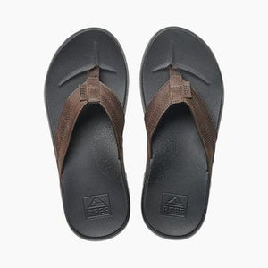 Reef Men's Cushion Bounce Phantom LE Thongs - Black/Brown
