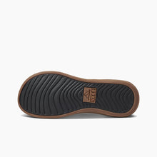Load image into Gallery viewer, Reef Men's Cushion Bounce Lux Thongs - Black/Brown