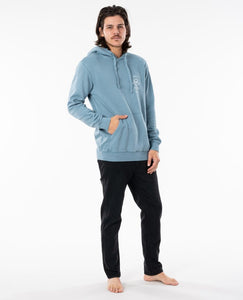 Ripcurl Men's Search Icon Hoodie - Mid Blue