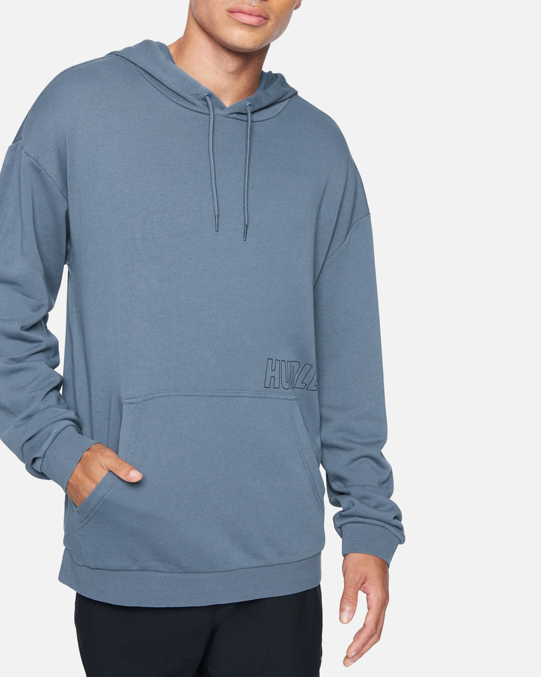 Hurley Men's Lazy Daze P/O Fleece - Diffused Blue