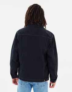 Rusty Men's Gothic 'R' Denim Jacket