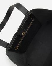 Load image into Gallery viewer, Stitch & Hide Emma Tote Bag - Black