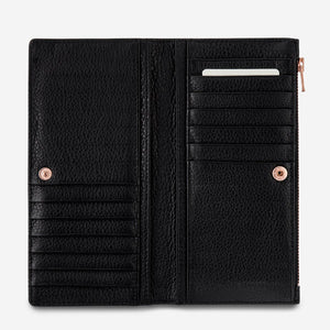 Status Anxiety Ladies In The Beginning Wallet - Black
