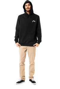 Rusty Men's Competition Hooded Fleece - Black