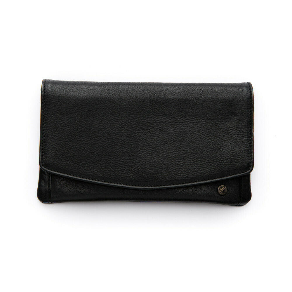 Stitch & Hide Darcy Wallet - Black