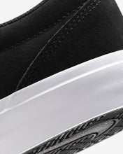 Load image into Gallery viewer, Nike SB Charge Suede Shoe - Black/Black/White