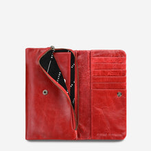 Load image into Gallery viewer, Status Anxiety Ladies Audrey Wallet - Red
