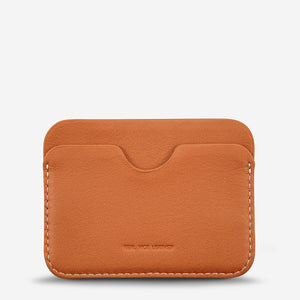 Status Anxiety Gus Wallet - Camel