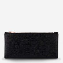 Load image into Gallery viewer, Status Anxiety Ladies In The Beginning Wallet - Black
