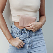 Load image into Gallery viewer, Status Anxiety Ladies Is Now Better Wallet - Dusty Pink