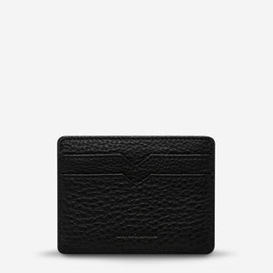 Status Anxiety Together For Now Card Wallet - Black