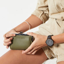 Load image into Gallery viewer, Status Anxiety Volatile Clasp Purse - Khaki