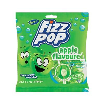 Beacon Fizz Pop Apple 10 Pk Sweets And Chocolates