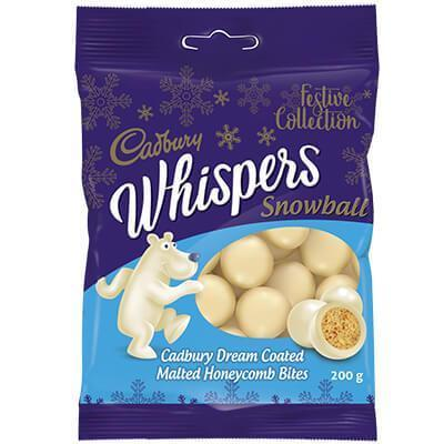 Cadbury White Whispers 200G [Christmas Special]