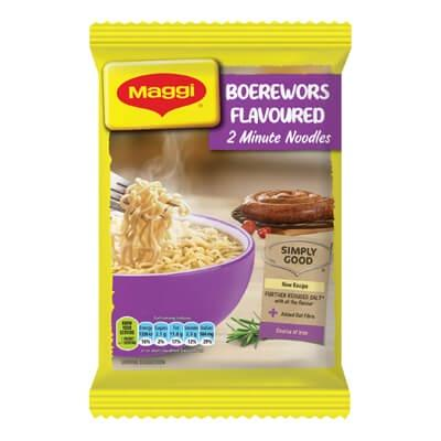 Maggi Boerewors Flavoured Noodles 73G