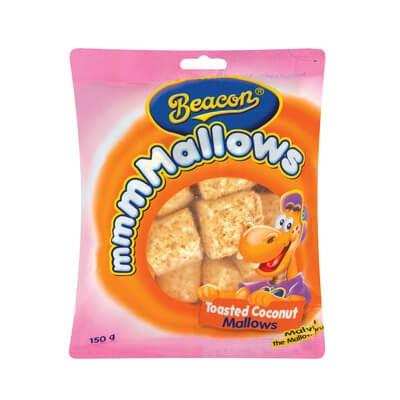 Beacon Marshmallows Toasted Coconut 150G