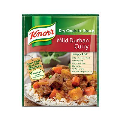 Knorr Cook in Sauce Mild Durban Curry 48G