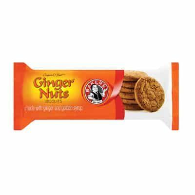 Bakers Ginger Nuts 200G Biscuits