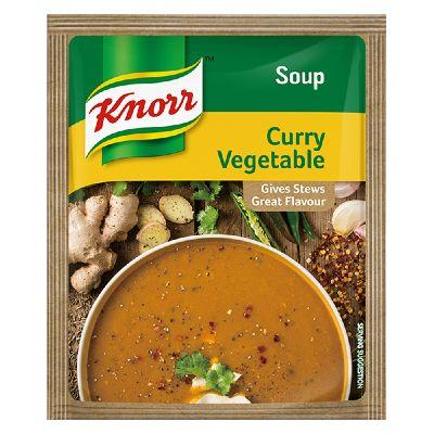 Knorr Curry Vegetable Soup 50G