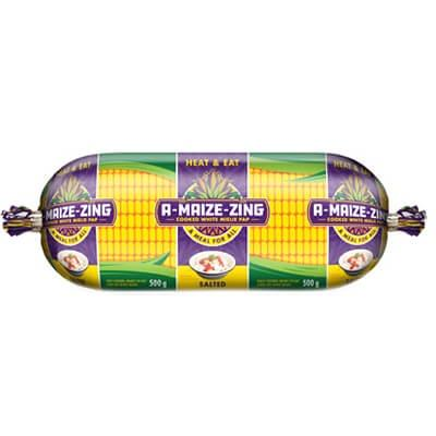 A-Maize-Zing Mielie Pap Roll 500G