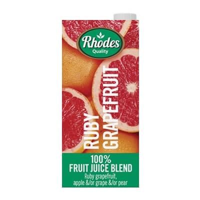 Rhodes Ruby Grapefruit Juice 1L