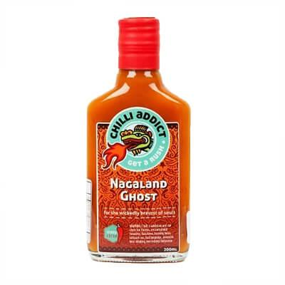 Chilli Addict Nagaland Ghost Chilli Sauce 12/10 200ML