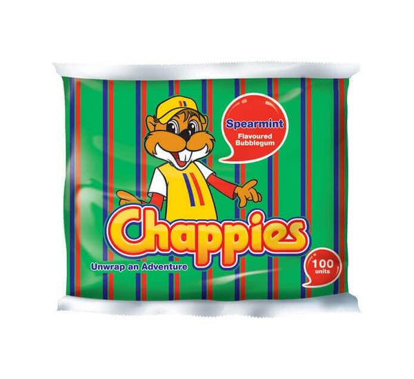 Chappies Spearmint 100's