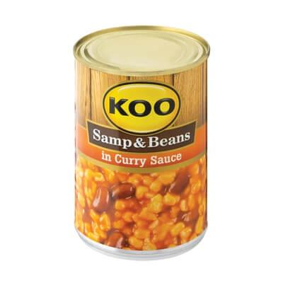 Koo Samp & Beans in Curry Sauce 410G