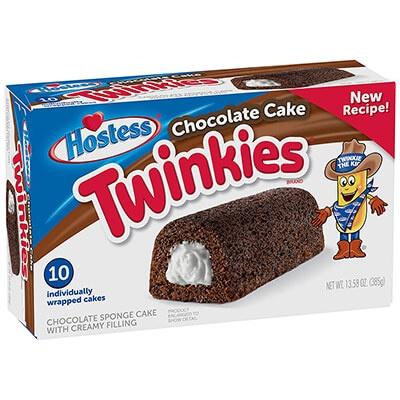 Hostess Twinkies Chocolate 10Pk Sweets And Chocolates