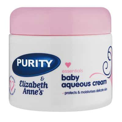 Purity & Elizabeth Annes Essentials Baby Aqueous Cream 325G