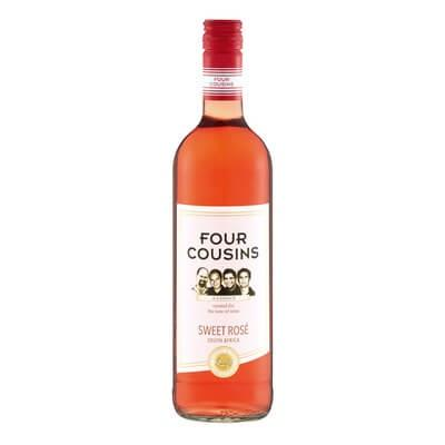 Four Cousins Sweet Rose 750Ml Alcohol