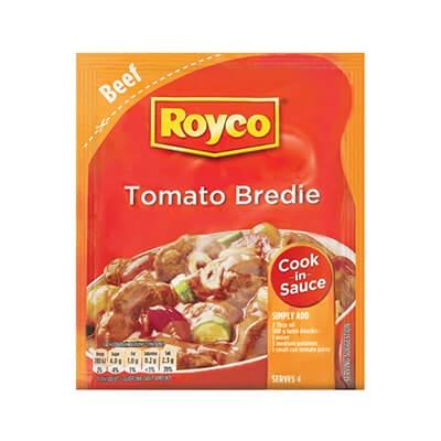 Royco Cook in Sauce Tomato Bredie 55G