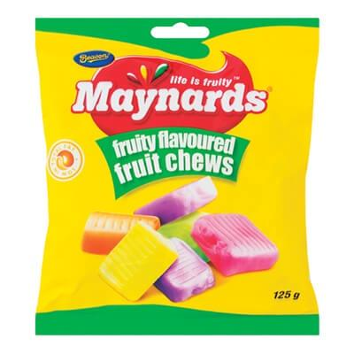 Beacon Maynards Fruit Chews 125G