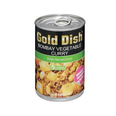 Gold Dish Bombay Vegetable Curry 400G Tinned