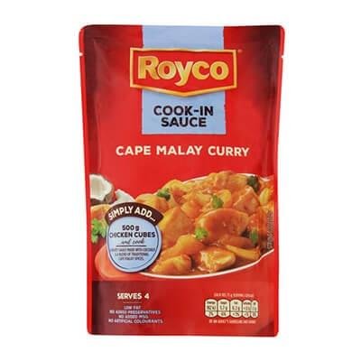 Royco Cook in Sauce Cape Malay 415G