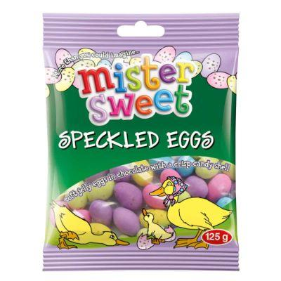 Mister Sweet Speckled Eggs 125G Sweets And Chocolates