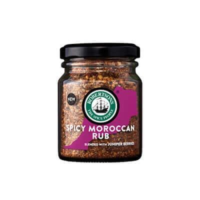 Robertsons Spicy Moroccan Rub 80G